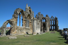 The ruins of Whitby Abbey (Tony Worrall) Tags: yorkshire yorks scene scenery northyorkshire resort yorkshirephotos east eastern seasidetown holidays tourists coast photographsofwhitby whitbyphotos whitby ruins iconic abbey whitbyabbey stones arch church architecture north update place location uk england visit area attraction open stream tour country item greatbritain britain english british gb capture buy stock sell sale outside outdoors caught photo shoot shot picture captured ilobsterit instragram