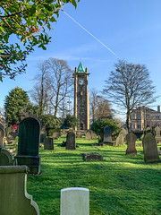 Photo of Church Graveyard and Clock Tower