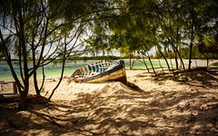 Beached (Rod Waddington) Tags: africa african afrique afrika madagascar malagasy beach beached boat landscape water ocean indian trees fishing sand
