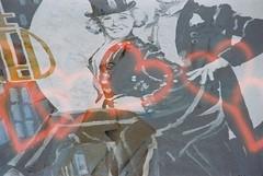 Federico + Giulietta (Liebe) (goodfella2459) Tags: nikonf4 konoliebe200 35mm c41 film analog colour murals rimini italy history cinemahistory borgosangiuliano federicofellini giuliettamasina gingerandfred manilovefilm