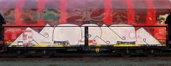 Graffiti on Freights (wojofoto) Tags: amsterdam nederland netherland holland graffiti streetart cargotrain freighttraingraffiti freighttrain freights fr8 güterzug vrachttrein wojofoto wolfgangjosten 2020 noob noeb