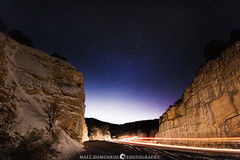 Western Skies and Tail Lights (MTD Photos) Tags: nmsky newmexico astrophotography landscape mattdomonkos mountain nature night nightsky nightscape sky space stargazing taillights winter