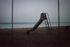 lost   l   2020 (weddelbrooklyn) Tags: strand spielplatz rutsche winter einsam verloren nikon d5200 eckernförde schleswigholstein ostsee beach playground slide lonely lost balticsea 35mm