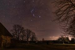 Orion's belt (JaaniicB) Tags: stars stargazing latvia night shot galaxy astrometrydotnet:id=nova3915519 astrometrydotnet:status=solved