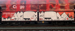 Graffiti on Freights (wojofoto) Tags: streetart holland amsterdam graffiti nederland netherland cargotrain freighttraingraffiti freighttrain freights noob 2020 güterzug fr8 wolfgangjosten wojofoto vrachttrein noeb