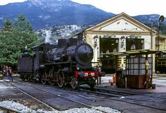 FS Gr 625.100 Trento 10/09/1995 (stefano.trionfini) Tags: train treni bahn zug railway steam dampf fs gr625 trento italia