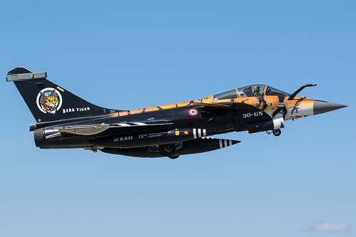 Dark Tiger Rafale C at Orange