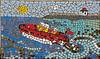 Mosaic at Burry Port Harbour