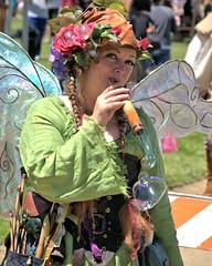 The Bubble Fairy (Bob_Wall) Tags: bobwall btwgf fairy bubble renaisancefair sanjose person woman fantasy