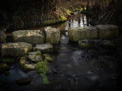 Bach im Wald (Deepmike70) Tags: landscape nature creek rocks water reflections trees