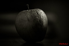 Apple (2636) (red.richard) Tags: bw monochrome apple fruit closeup nikon d800 cof094 cof094anne cof094dmnq cof094mchi cof094dero cof094chon cof094chri