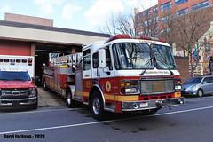 Philadelphia Fire Department Ladder 169 (GhostStationPA86) Tags: philadelphia pennsylvania unitedstates firedepartment americanlafrance lti tiller ladder fireapparatus firetruck bombeiros bomberos brandweer feuerwehr firebrigade
