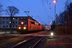 Railpool 151 164-1 (Phil.Kn.) Tags: henschel 151 e151 railpool rpool db nachtaufnahme bahn zug eisenbahn lok lokomotive