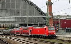 REGIO to Norddeich Mole (Schwanzus_Longus) Tags: bremen central station german germany db deutsche bahn modern railroad railway electric engine loco locomotive commuter train bi level dosto regio