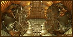 *Gold... (MONKEY50) Tags: fractal art digital colors m3d gold brown yellow abstract psp hypothetical musictomyeyes awardtree artdigital netartii exoticimage autofocus flickraward contactgroups