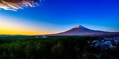 fujikawaguchiko mountfuji sunset (Photo: G · RTM on Flickr)