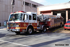 Philadelphia Fire Department 169 (GhostStationPA86) Tags: philadelphia pennsylvania unitedstates firedepartment fireapparatus firetruck americanlafrance tiller lti ladder bombeiros bomberos brandweer feuerwehr firebrigade