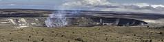 Kilauea Volcano on Hawaii's Big Island Panorama (Klaus Ficker --Landscape and Nature Photographer--) Tags: hawaii vulcan panorama kentuckyphotography klausficker canon eos5dmarkiv usa kilauea bigisland
