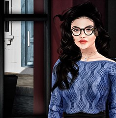 Waiting (sloaneb.) Tags: roleplay secondlife character 1950 pub essex england uk portrait