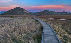 The Boardwalk (Rick Derevan) Tags: morrobay california mbsp morrobaystatepark boardwalk sunset hills sunsethills