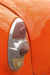 Classic Car Tail Light (jolynne_martinez) Tags: car auto automobile classiccar red taillight chrome cuba cuban cubanisms nikkor nikon nikond60 photoshop