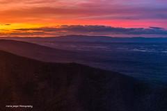 Fire in the Sky... (jaegemt1) Tags: blueridgeparkway mariajaegerphotography mountains sky sunset clouds color calm peaceful jaegemt1 landscape light outdoors inspiration