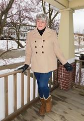 When You Gotta Be A Girl, You Dress Like A girl (Laurette Victoria) Tags: coat leggings boots laurette woman