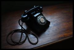 (David Ian Ross) Tags: home evening telephone dust bakelite 1950 gpo generalpostoffice 332l grandmother window reflected daylight