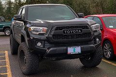 2016 Toyota Tacoma (mlokren) Tags: 2020 car spotting photo photography photos pic picture pics pictures pacific northwest pnw pacnw oregon usa vehicle vehicles vehicular automobile automobiles automotive transportation outdoor outdoors 2016 toyota tacoma pickup truck black 4x4 4wd