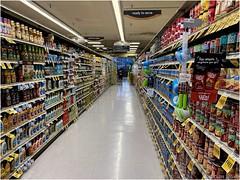 Ready to Serve (-Brian Blair-) Tags: aisle market floor shelf shelve metal odc awardtree food cans three 3 aisforaisle