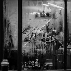 Barbers shop.. (marksbrokenlens) Tags: barbers shop london mayfair steam window condensation