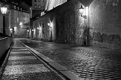 Prague December 2019 (scatman otis) Tags: prague czechrepublic iphone11 blackandwhite bw night nightphotography streetscenes cities europe europeatnight lovelycity