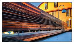 A Long Bench (Timothy Valentine) Tags: large bench camera2 0120 2020 169 monday providence rhodeisland unitedstatesofamerica