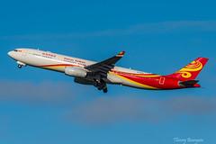 [CDG] Hainan Airlines Airbus A330-343 _ B-1048 (thibou1) Tags: thierrybourgain cdg lfpg spotting aircraft airplane nikon d810 hainan airbus a330 a333 b1048 china hna a330343 hainanairlines tamron sigma a330300 takeoff