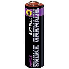 Purple Smoke Grenade by Black Cat Fireworks