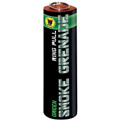 Green Smoke Grenade by Black Cat Fireworks