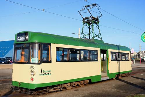 Trams: Blackpool Transport: 680 Pleasure Beach