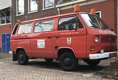 1986 Volkswagen Transporter 1.6 D (T3) 'Feuerwehr' (rvandermaar) Tags: 61sjf4 1986 volkswagen transporter 16 d t3 feuerwehr vw vwt3 volkswagent3 vwtransporter volkswagentransporter