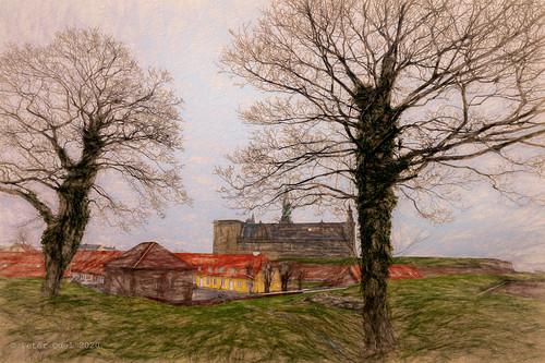Kronborg Castle. Painted series 3
