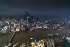 View from the Shard - London (E_W_Photo) Tags: london viewfromtheshard theshard thecheesegrater thegherkin thepinnacle thescalpel tower42 londonbridge riverthames hmsbelfast cityscape view level68 canon 80d sigma 1020mm
