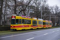 202 (200er Serie) Tags: schienenfahrzeug blt baselland transport ag gelb 200er serie schindler waggon pratteln tram drämmli