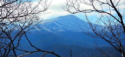 7384ex2  frosty ridges of the Smokies