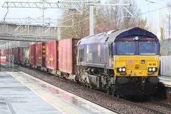 FALKIRK GRAHAMSTON 66109 TEESPORT EXPRESS (johnwebb292) Tags: falkirk diesel class 66 66109 teesportexpress dbs