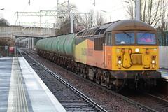 FALKIRK GRAHAMSTON 56113 (johnwebb292) Tags: falkirk diesel class 56 56113 colasrail