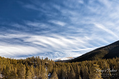 January 26, 2020 - Cool clouds in the high country. (Tony's Takes)