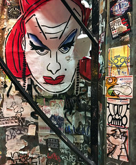 Vogue (Question Josh? - SB/DSK) Tags: sticker stickers stickr slaps streetart chicago