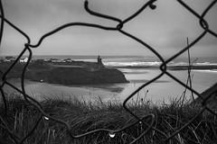 Winter's shore, Ballybunion, Kerry (Sean Hartwell Photography) Tags: ballybunion castle kerry countykerry beach coast coastal wildatlanticway fence sea atlantic ocean ireland