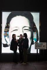 Poland Street (Silver Machine) Tags: london polandstreet streetphotography street candid men drinking groupofpeople shopwindow advertisement terryoneill fujifilm fujifilmxt10 fujinonxf35mmf2rwr