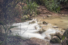 (Rafi Moreno) Tags: landscape paisaje rafi rio naturaleza nature photoshop vintage retro soft pale marbella cascada largaexposición