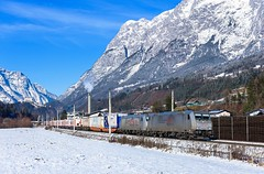 TXL 185 418 + 185 537, Pfarrwerfen (Paha Bálint) Tags: txlogistik txl br185 bombardier bombardiertraxx austria freighttrain train güterzug
